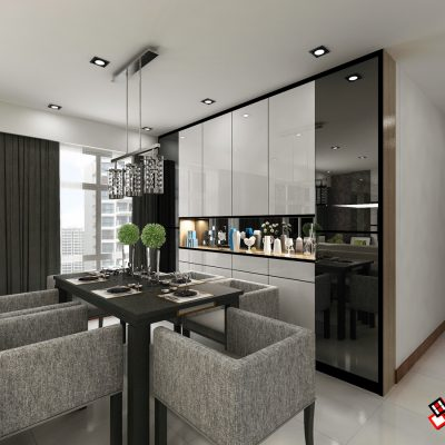 BLK 662D  EDGEDALE PLAINS(dining)