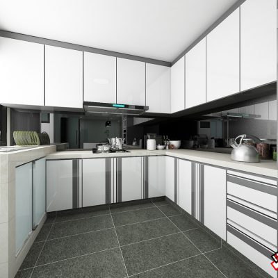 Blk 430 Tampines st 41(kitchen)