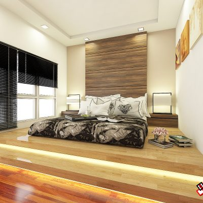 Bedok Reservior Road (Master Bedroom)