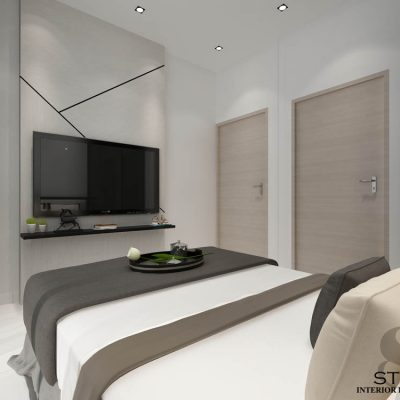 1 suites 1 lorong 20 geylang  (Master Bedroom)