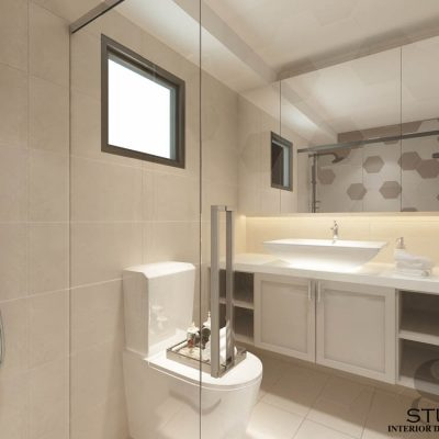 blk 218B boon lay ave(master bathroom)